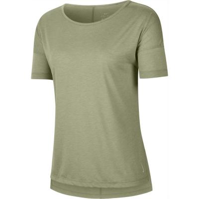 Nike Yoga Short-Sleeve Top pentru Femei