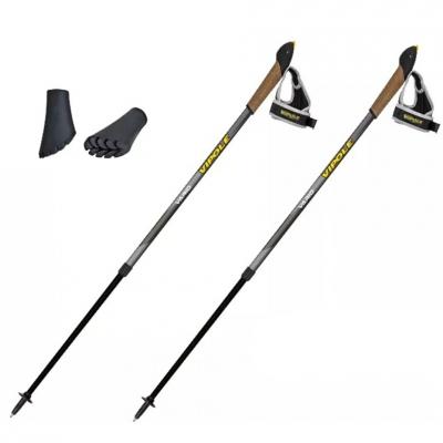 Nordic Walking Vipole Vario Top-Clic poles gray P20452