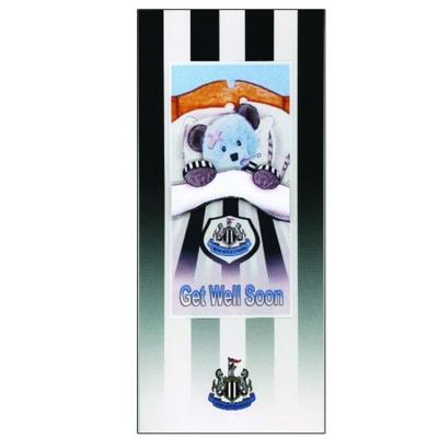 NUFC Get Well Soon Card