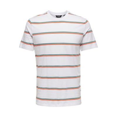 Tricouri Only and Sons Regular fit Stripe