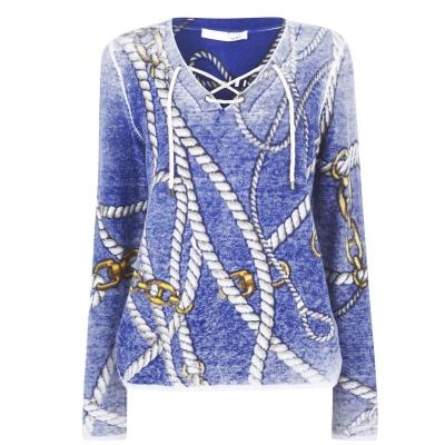 Oui Chain Knit Jumper