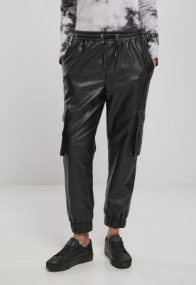 Pantaloni Faux din piele Cargo pentru Femei Urban Classics