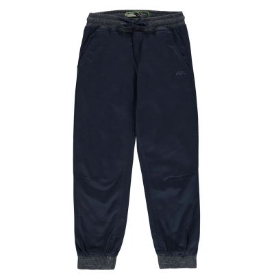 Pantaloni chino No Fear Ribbed Waistband de baieti Junior