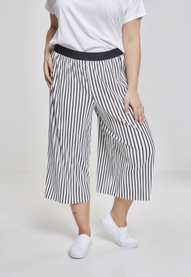 Stripe Pleated Culotte pentru Femei Urban Classics