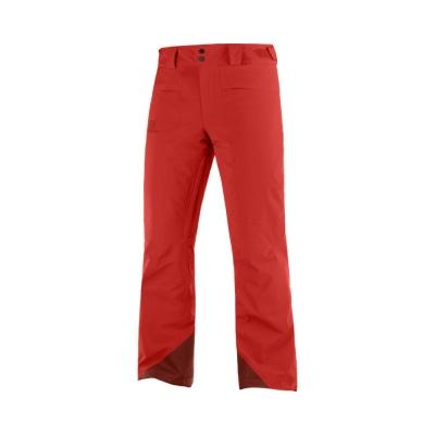 Pantaloni Drumetie Barbati BRILLIANT PANT M Rosu Salomon