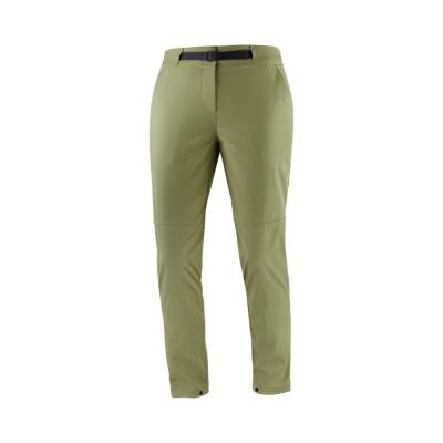 Pantaloni Drumetie Femei Salomon OUTRACK PANT W REGULAR Kaki