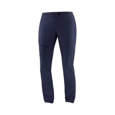 Pantaloni Drumetie Femei Salomon OUTSPEED PANTS W Bleumarin