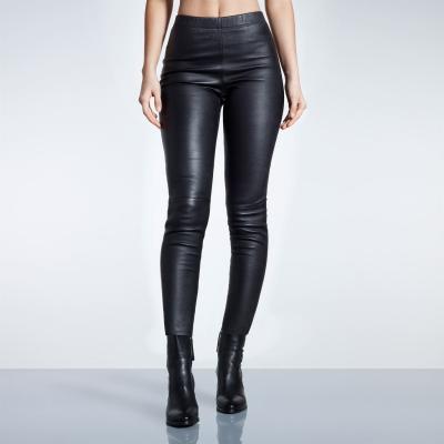 Pantaloni Firetrap Blackseal din piele
