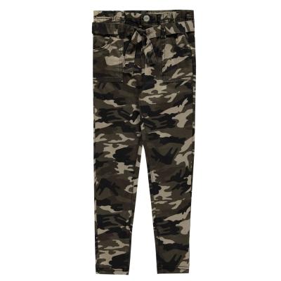 Pantaloni Firetrap Camo de fete Junior