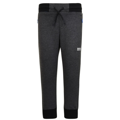 BOSS Cuffed Jogging Bottoms de baieti Copil