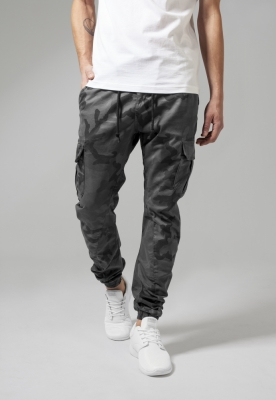 Pantaloni Camo Cargo Jogging Urban Classics