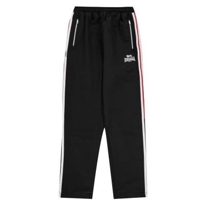 Pantaloni Lonsdale Two Stripe Woven Jogging de baieti Junior