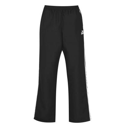 Pantaloni Lonsdale 2 Stripe Open Hem Woven pentru Barbati