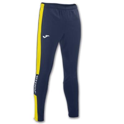 Pantaloni Long Champion Iv Navy-yellow Joma