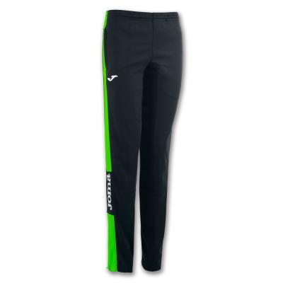 Pantaloni Long Championship Iv Black-fluor Green pentru Femei Joma