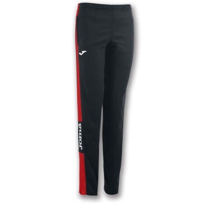 Pantaloni Long Champion Iv Black-red pentru Femei Joma