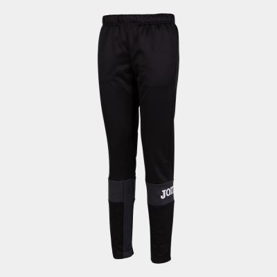Pantaloni Crew Iv Long Black-anthracite Joma
