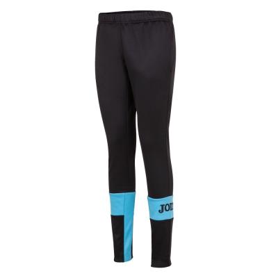 Pantaloni Crew Iv Long Black-fluor Turquoise Joma