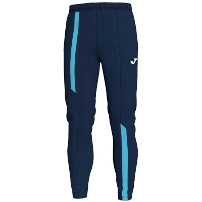 Pantaloni Long Supernova Dark Navy-fluor Turq Joma