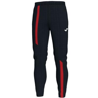 Pantaloni Long Supernova Black-red Joma