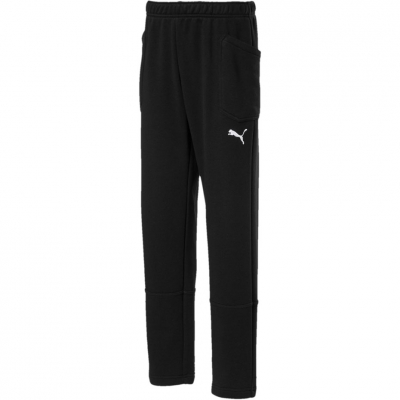 Pantaloni Pantaloni for boy Puma Liga Casuals black 655635 03