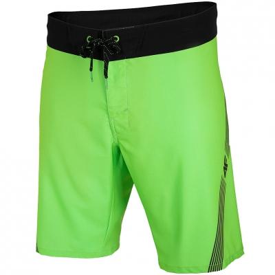 Pantaloni scurti 4F lush green neon H4L20 SKMT003 45N pentru Barbati