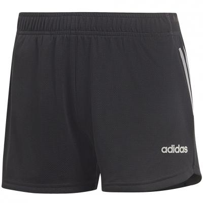 Pantaloni scurti 's adidas D2M 3-Stripes Knit black DS8725 pentru Femei