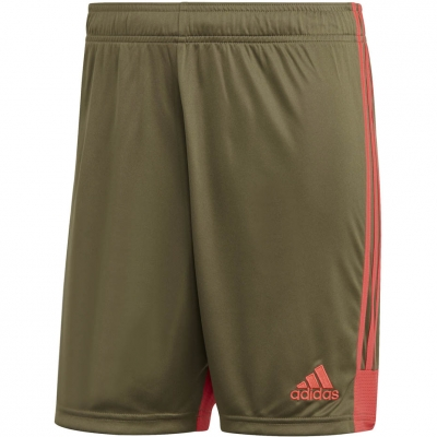 Pantaloni scurti The adidas men's Tastigo 19 khaki DP3254 adidas teamwear
