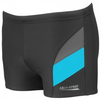 Pantaloni scurti BATH AQUA-SPEED ANDY gray-blue 32 349