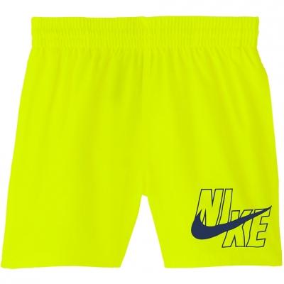 Pantaloni scurti pentru baie Nike Logo 's Solid Lap yellow NESSA771 731 Junior Copil