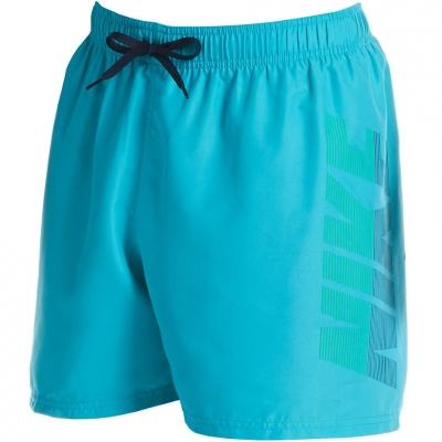 Pantaloni scurti pentru baie Nike Rift Breaker turquoise NESSA571 376 Men's