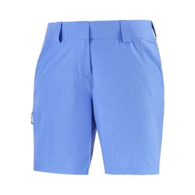 Pantaloni Scurti Drumetie Femei Salomon WAYFARER SHORTS W Albastru