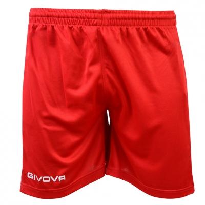 Pantaloni scurti Givova One red P016-0012