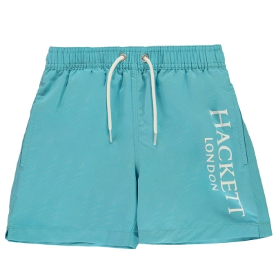 Pantaloni scurti Hackett Hackett Logo Print Swim de baieti