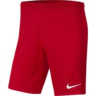 Pantaloni scurti Nike Dry Park III NB K Red BV6855 657