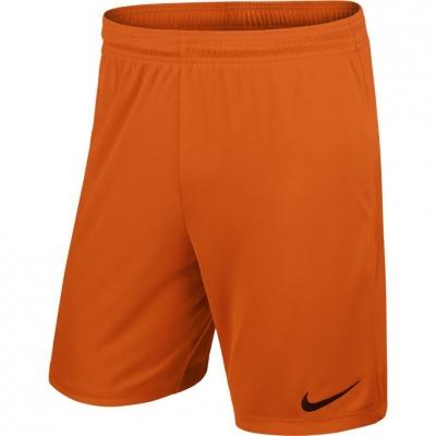 Pantaloni scurti NIKE PARK II KNIT SHORT NB JR orange 725988 815