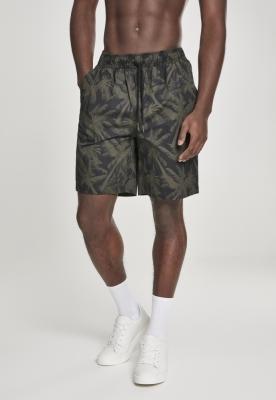 Pantaloni scurti Pattern Resort Urban Classics