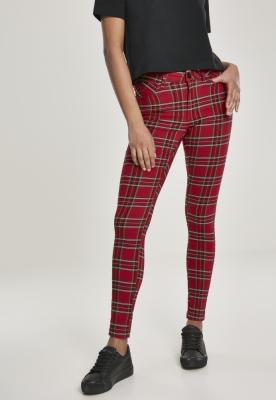 Pantaloni Skinny Tartan pentru Femei Urban Classics