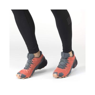 Pantofi Alergare Femei Salomon SPEEDCROSS 5 GTX W Portocaliu