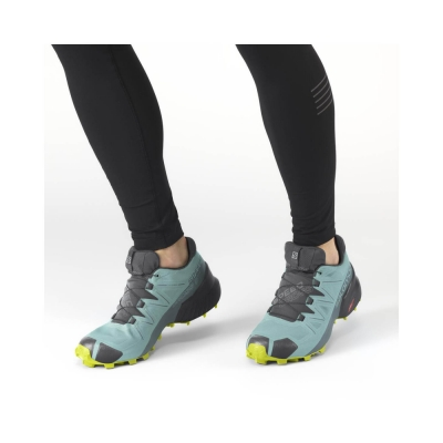 Pantofi Alergare Femei Salomon SPEEDCROSS 5 GTX W Vernil