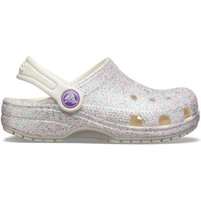 Crocs for Classic Glitter Clog colorful 205441 159 pentru Copil