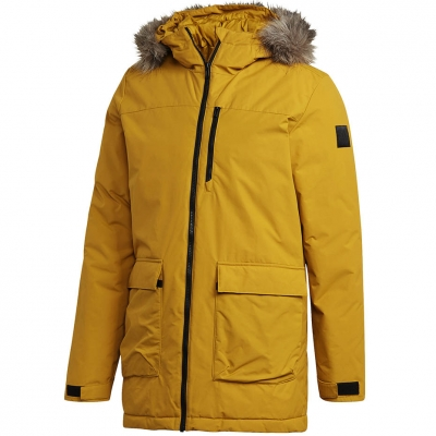 Men's adidas Xploric Parka yellow GK3551