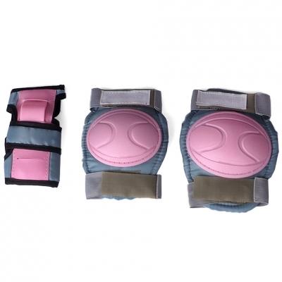 Protective gear for roller skates Mechanics Jr VP 316 pink