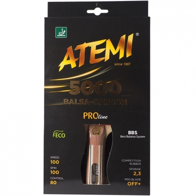 Patty for Ping Pong Atemi 5000 New Pro concave