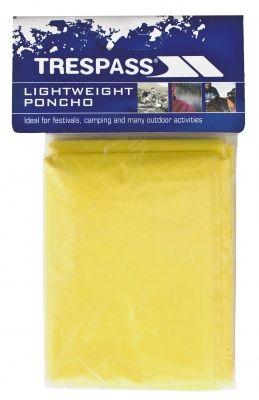 Pelerina ploaie Drylite Yellow Trespass