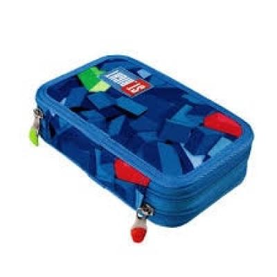 Penar Scoala Cu 2 Compartimente Pentru Copii 3d Blocks, Majewski,