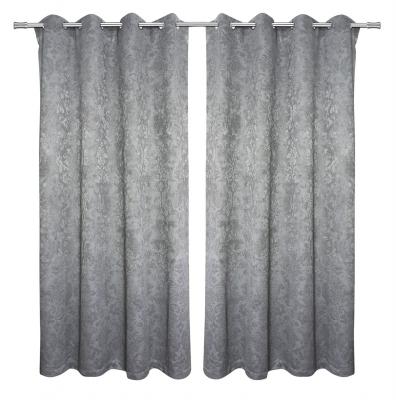 Homsire Velvet Embossed Curtains