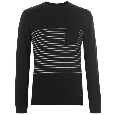 Pierre Cardin Striped Pocket Knit pentru Barbati