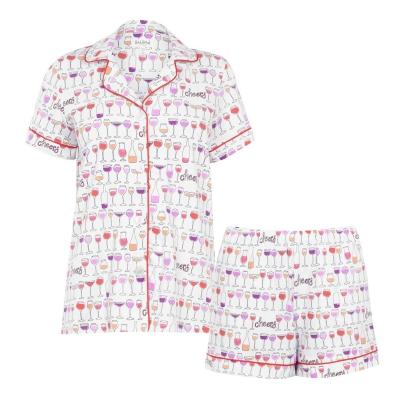 Bedhead Drink Short Pyjama Set
