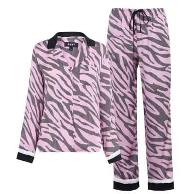 DKNY Satin Pyjama Set